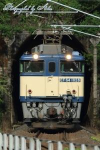 3081レ(=EF64-1028牽引)