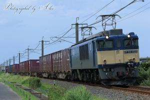 3084レ(=EF64-1028牽引)