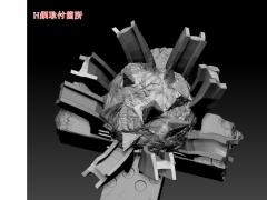 mass blade サポート画像(H鋼)