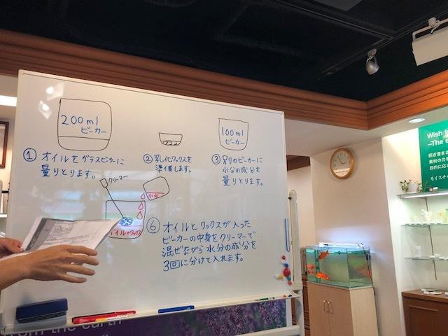 大阪ブロガー交流会 手作りコスメ