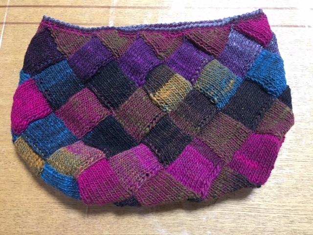 2バスケット編み バッグ