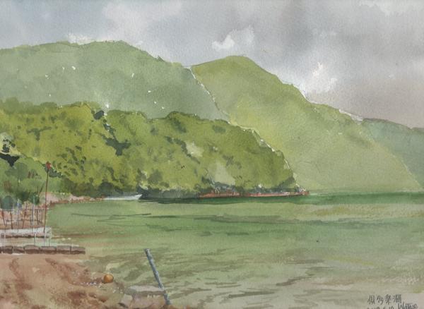 俱多楽(クッタラ)湖