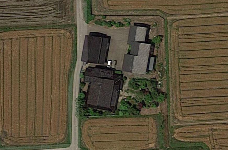 トナミ運輸 萩原空撮