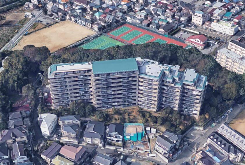 カワムラサイクル 村山空撮