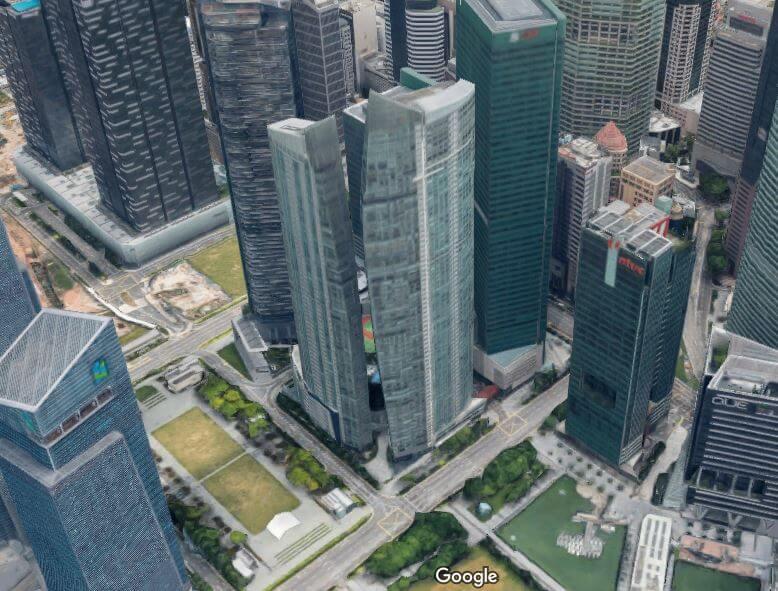 ユーザベース 新野シンガポール空撮