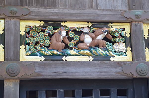 有名な3猿