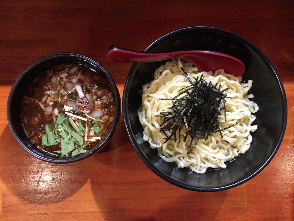 麺処 秋もと -- 鰹醤油つけ麺