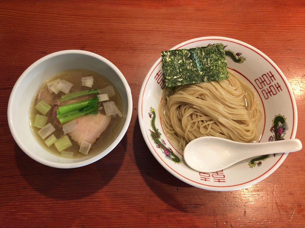 麺処 ほん田 -- 濃厚昆布水の淡麗つけ麺(塩)(四季の限定)(2回目)
