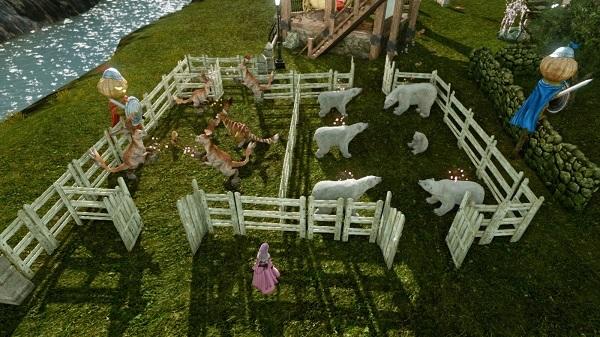 5月25日畜舎作り