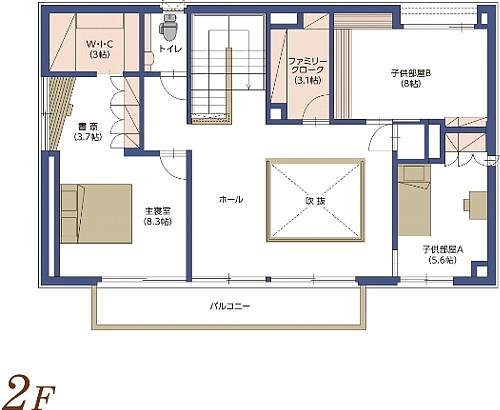 0264_kurume_madori_2F.jpg