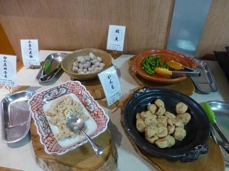休暇村帝釈峡夕食 (54)