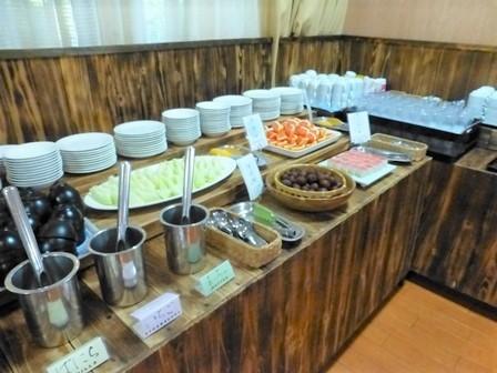 帝釈峡夕食2