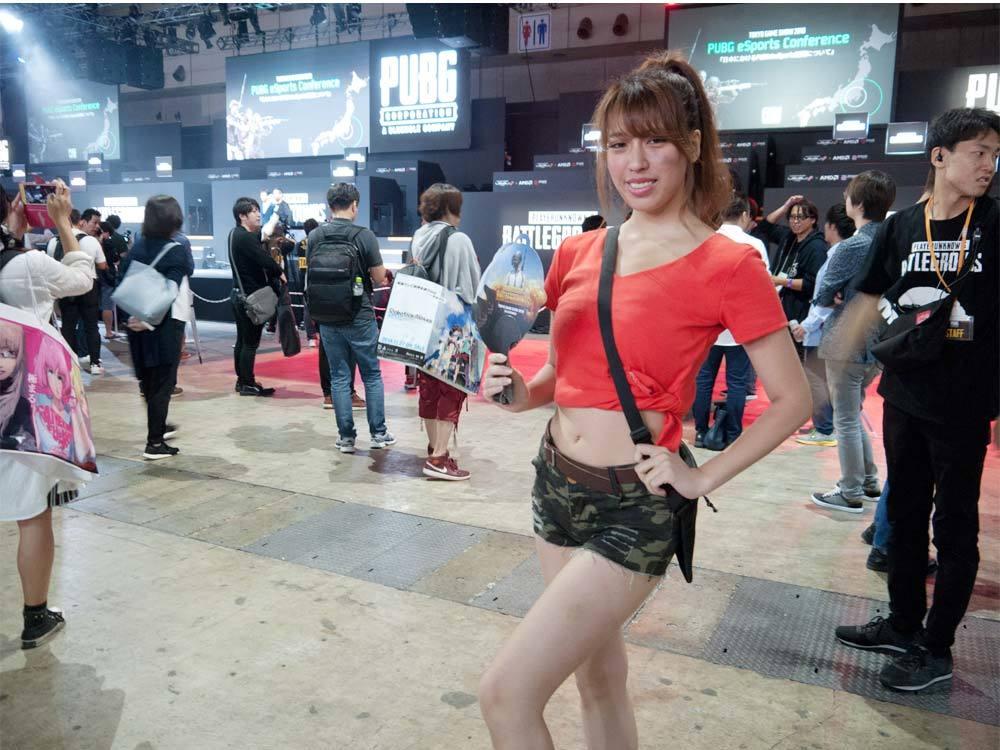 TGS2018 東京ゲームショウ2018 コンパニオン