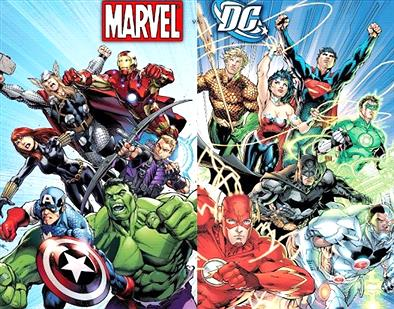 「アメコミヒーロー」と「日本のヒーロー」で戦争したらどっち勝つ?