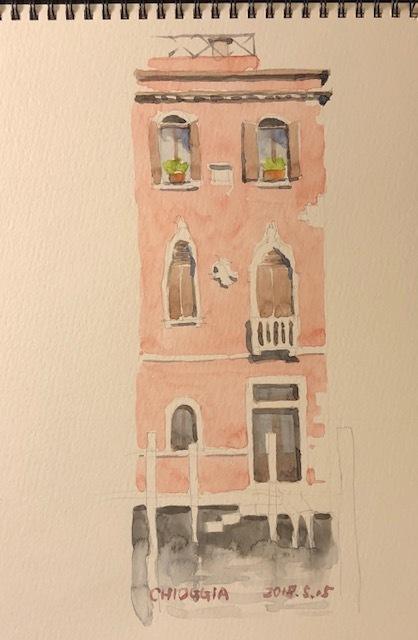 キオッジャピンクの家