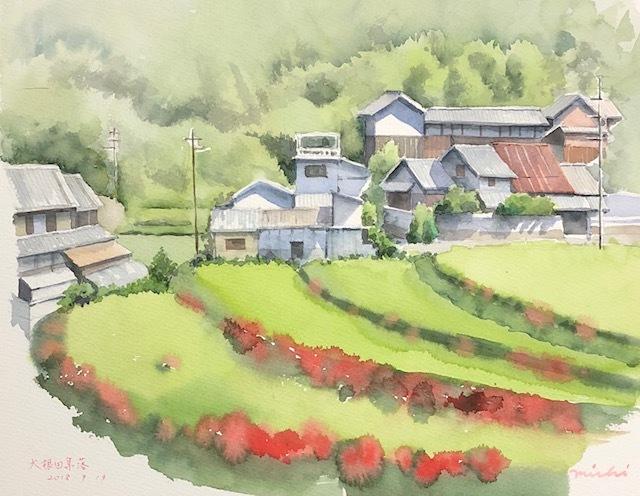 お大根田集落201809