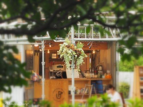 東遊園地のカフェだよaa