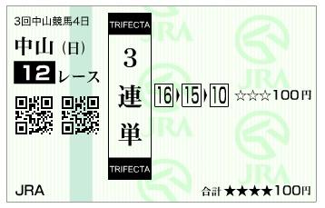馬券【300401】中山12R_2