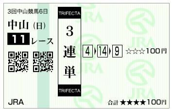 馬券【300408】中山11R_2