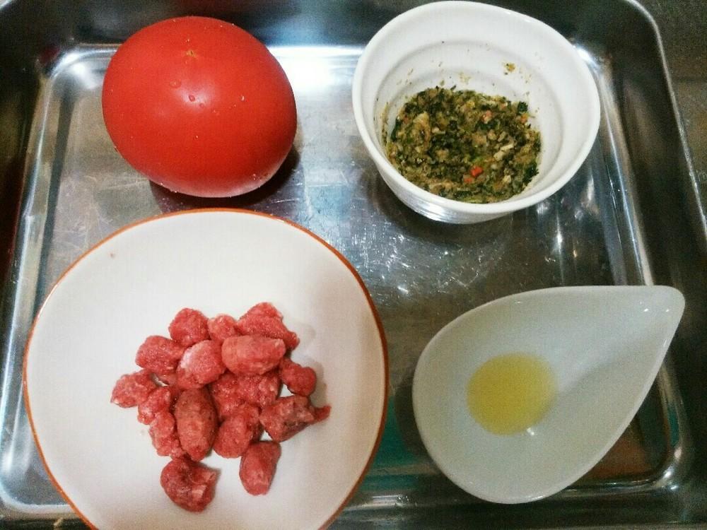 トマトカップの作り方1