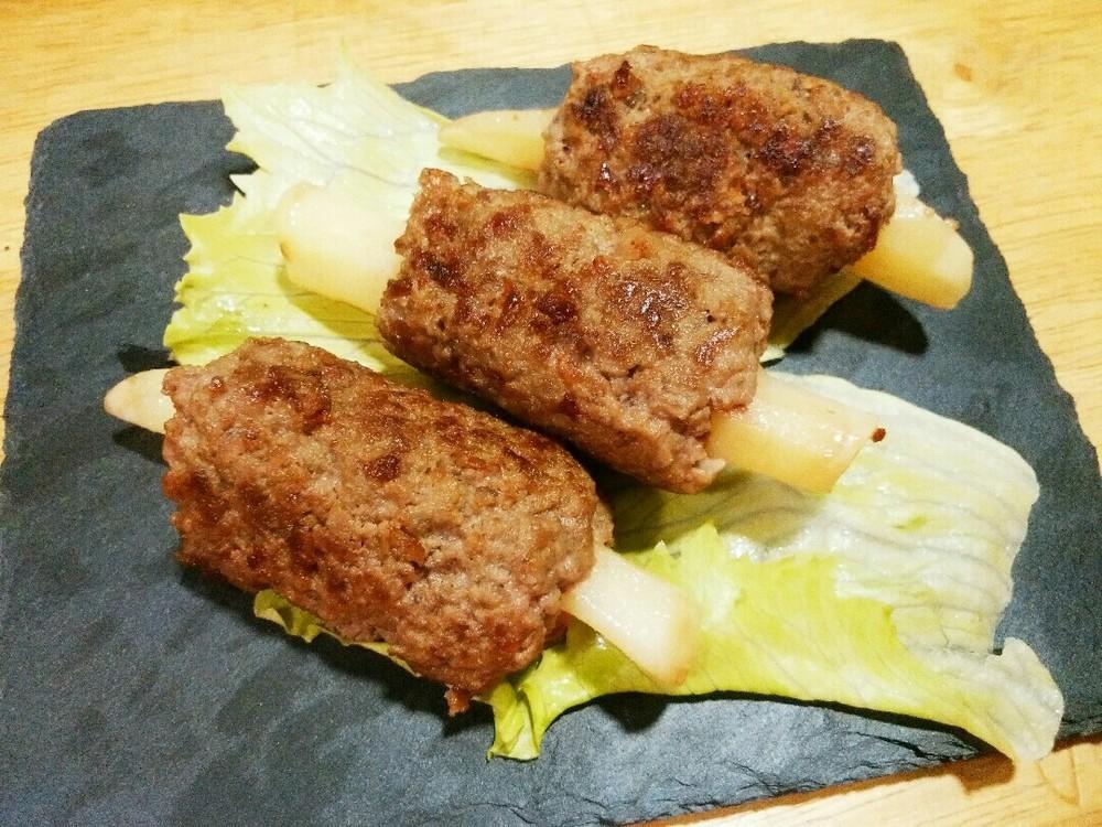 なんちゃって骨付き肉の作り方8