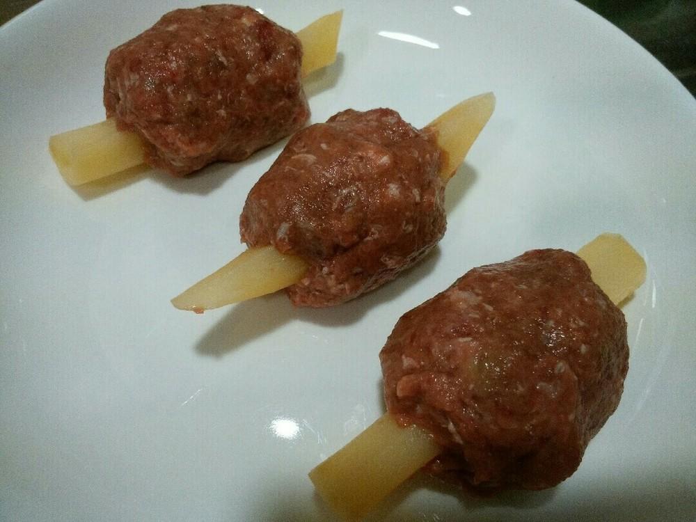なんちゃって骨付き肉の作り方5