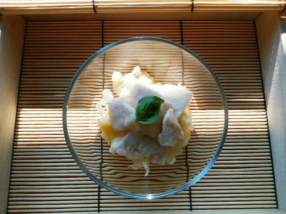 ぷるぷる茹で鶏の作り方5