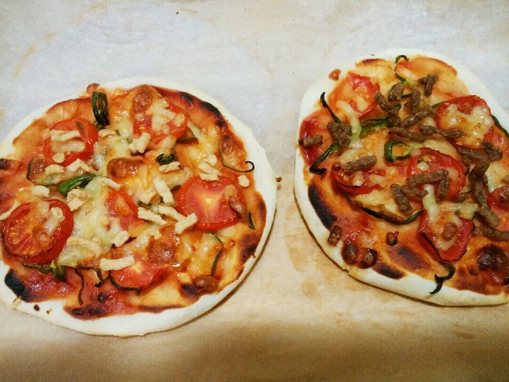 手作りピザの作り方12