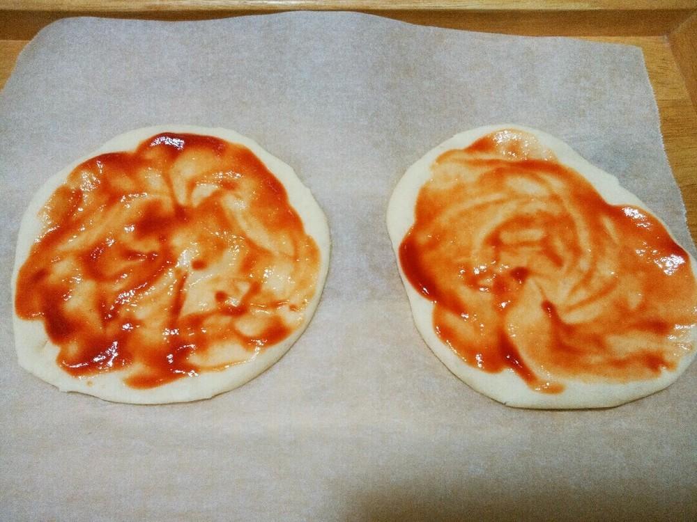 手作りピザの作り方9