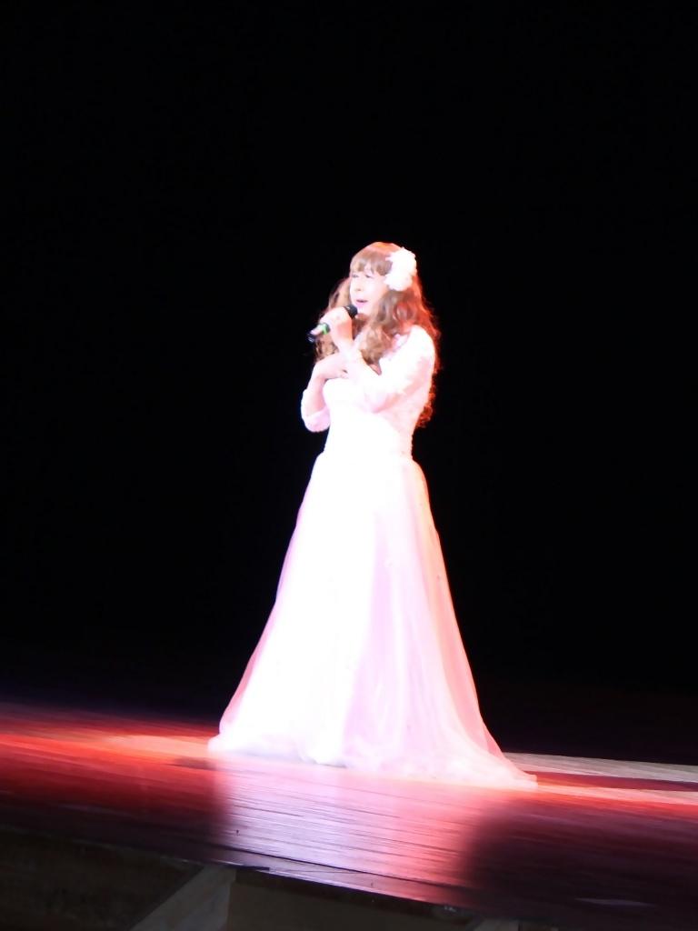 ピンクドレス舞台(1)