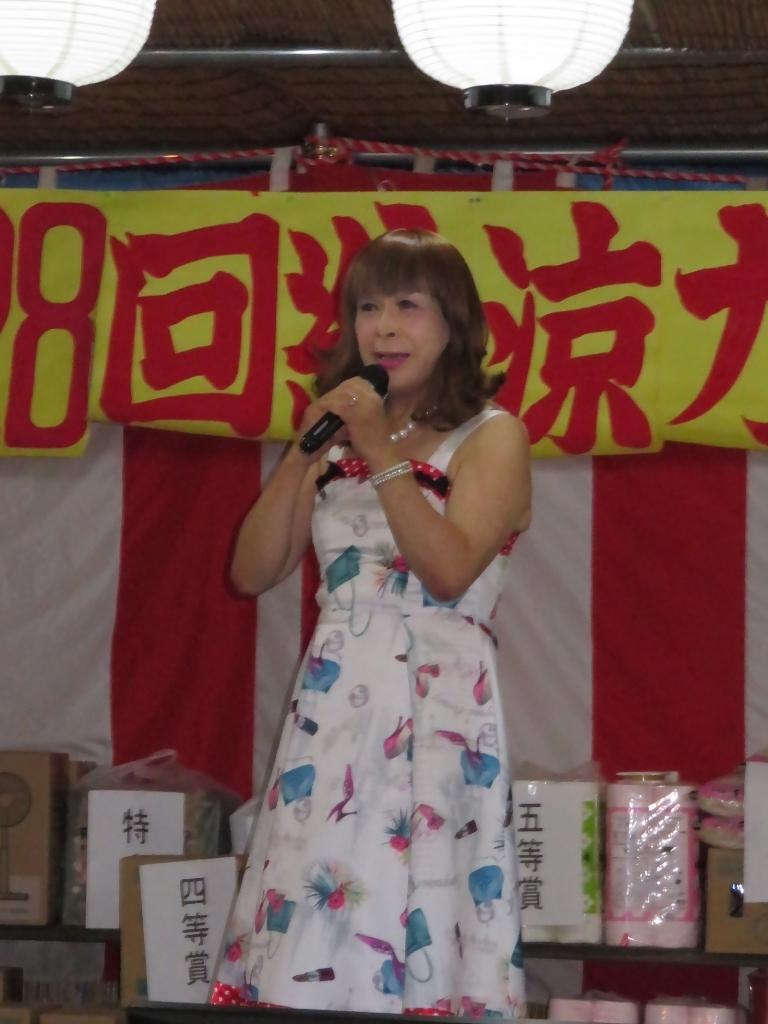 180825諏訪神社納涼祭カラオケ(2)