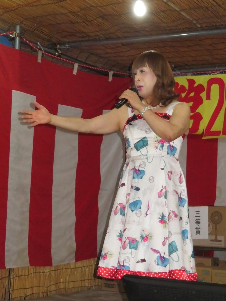 180825諏訪神社納涼祭カラオケ(3)