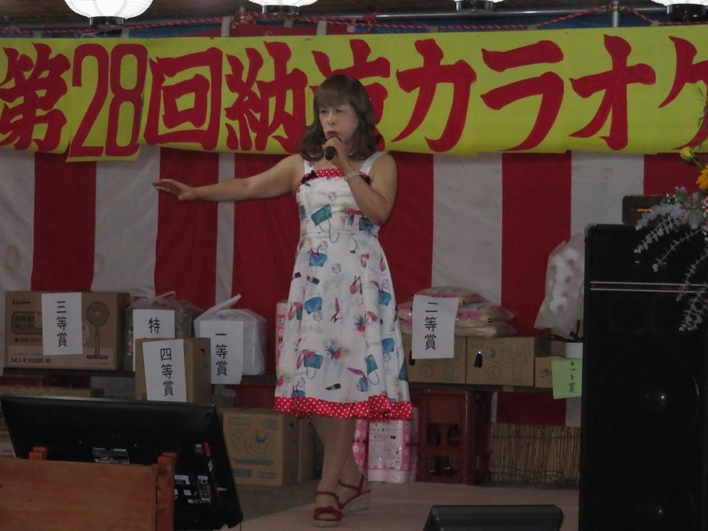180825諏訪神社納涼祭カラオケ(6)