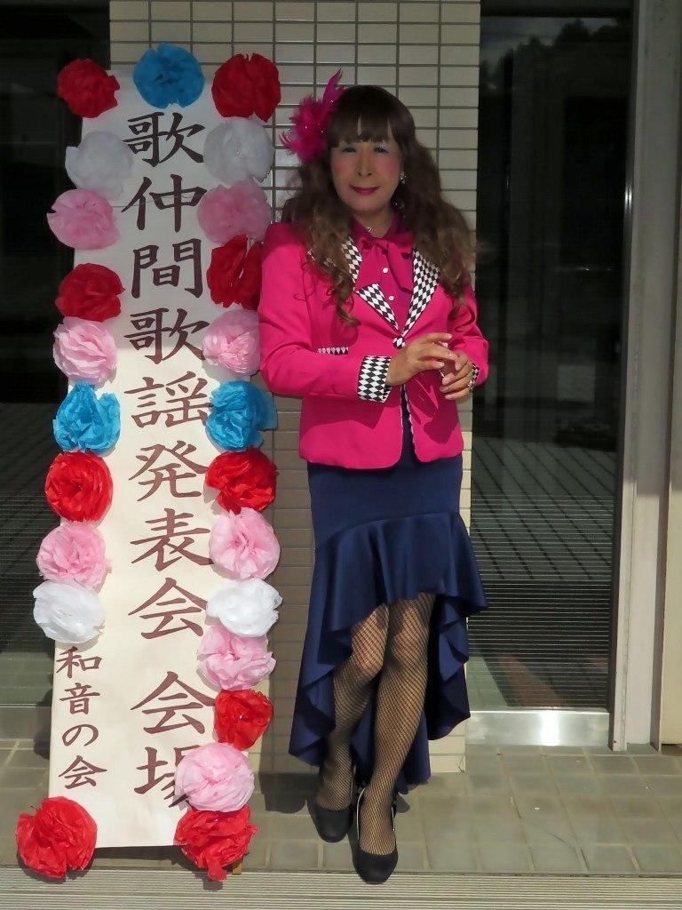 ピンクジャケット舞台衣装(1)