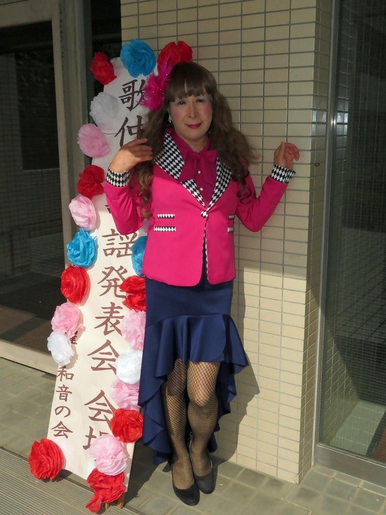 ピンクジャケット舞台衣装(3)