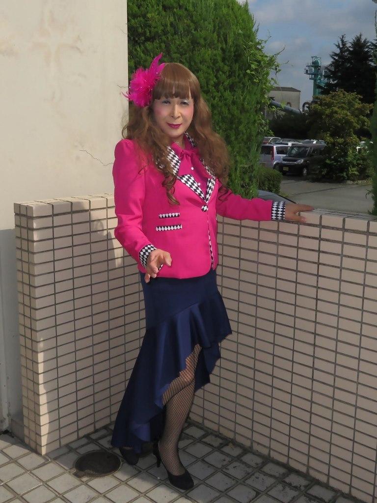 ピンクジャケット舞台衣装(5)