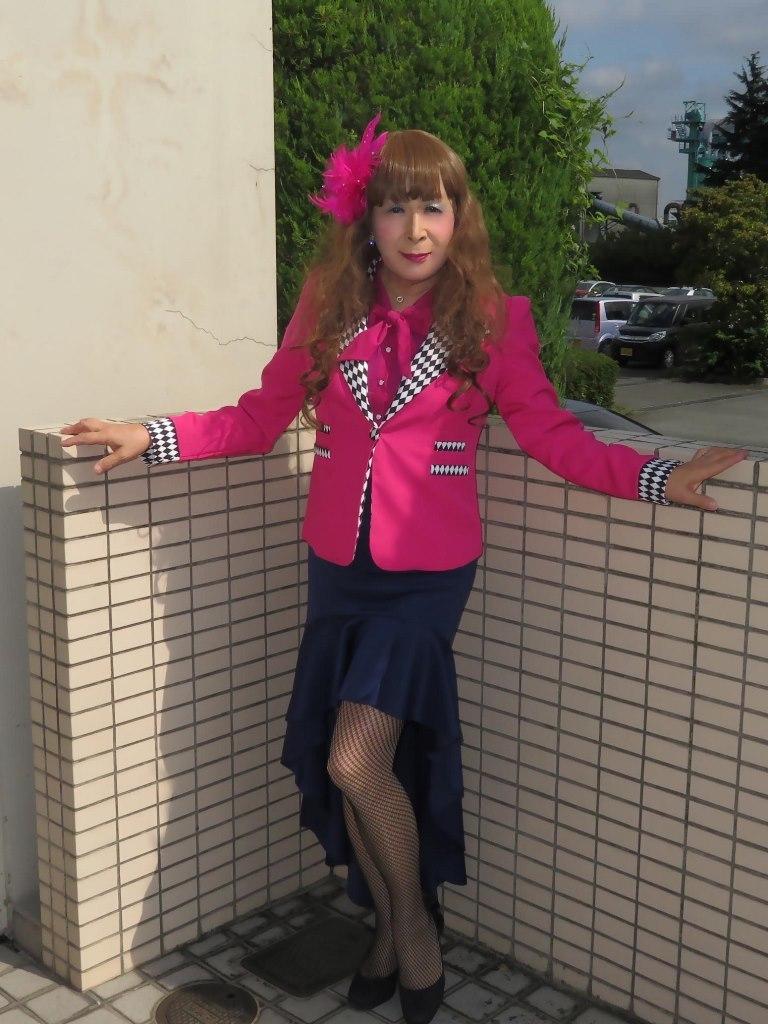 ピンクジャケット舞台衣装(6)