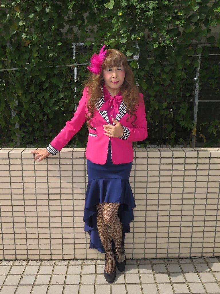 ピンクジャケット舞台衣装(7)