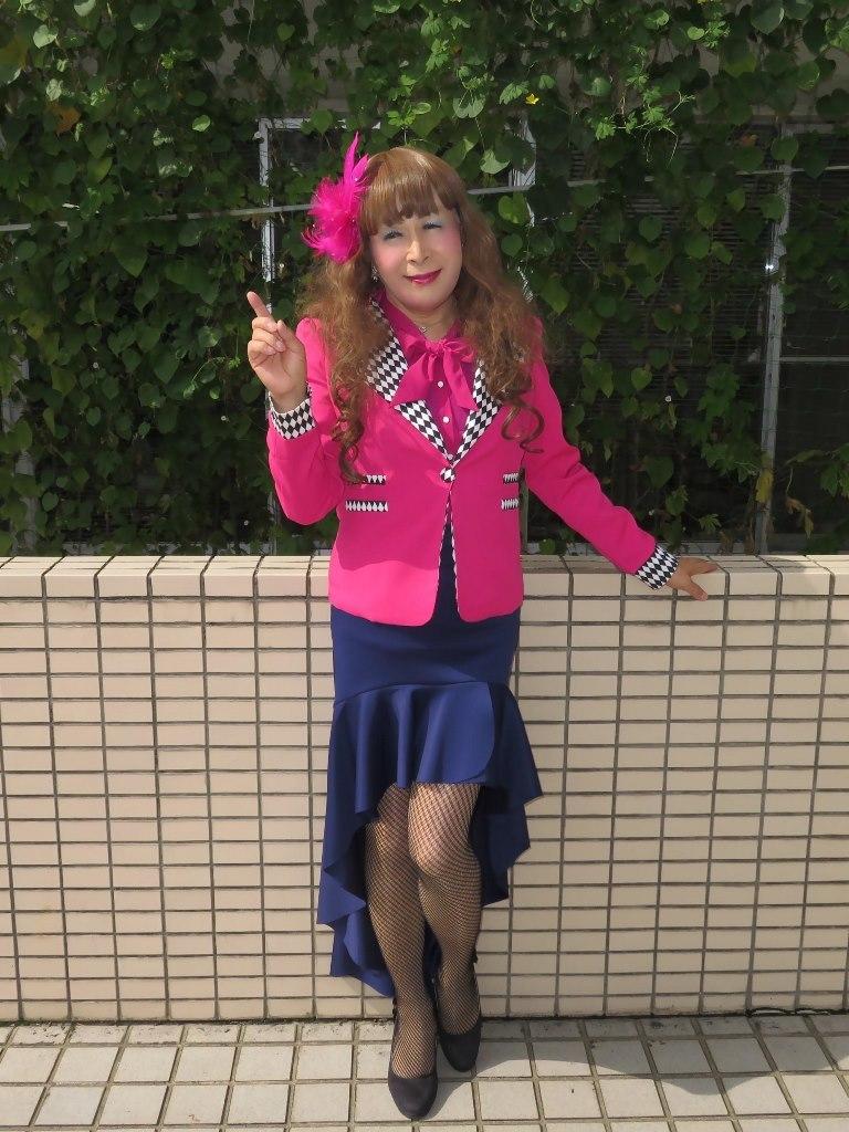 ピンクジャケット舞台衣装(8)