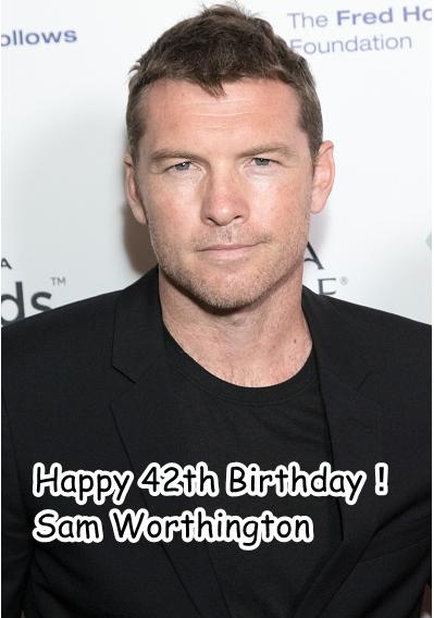 サム42歳おめでとう!