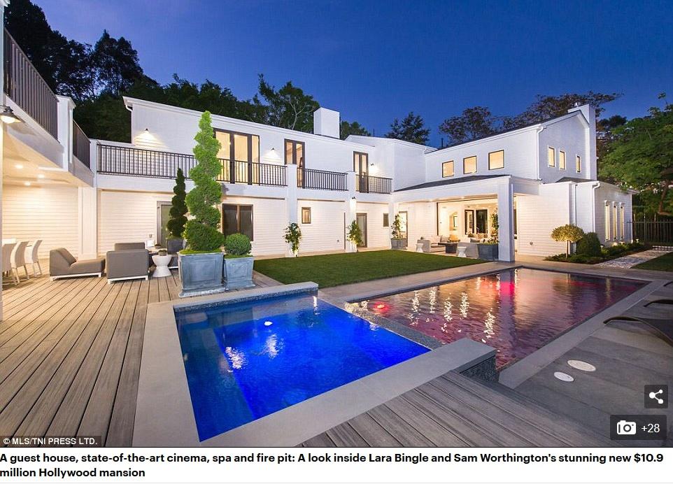 サム、ハリウッドに121億円の豪邸購入!!