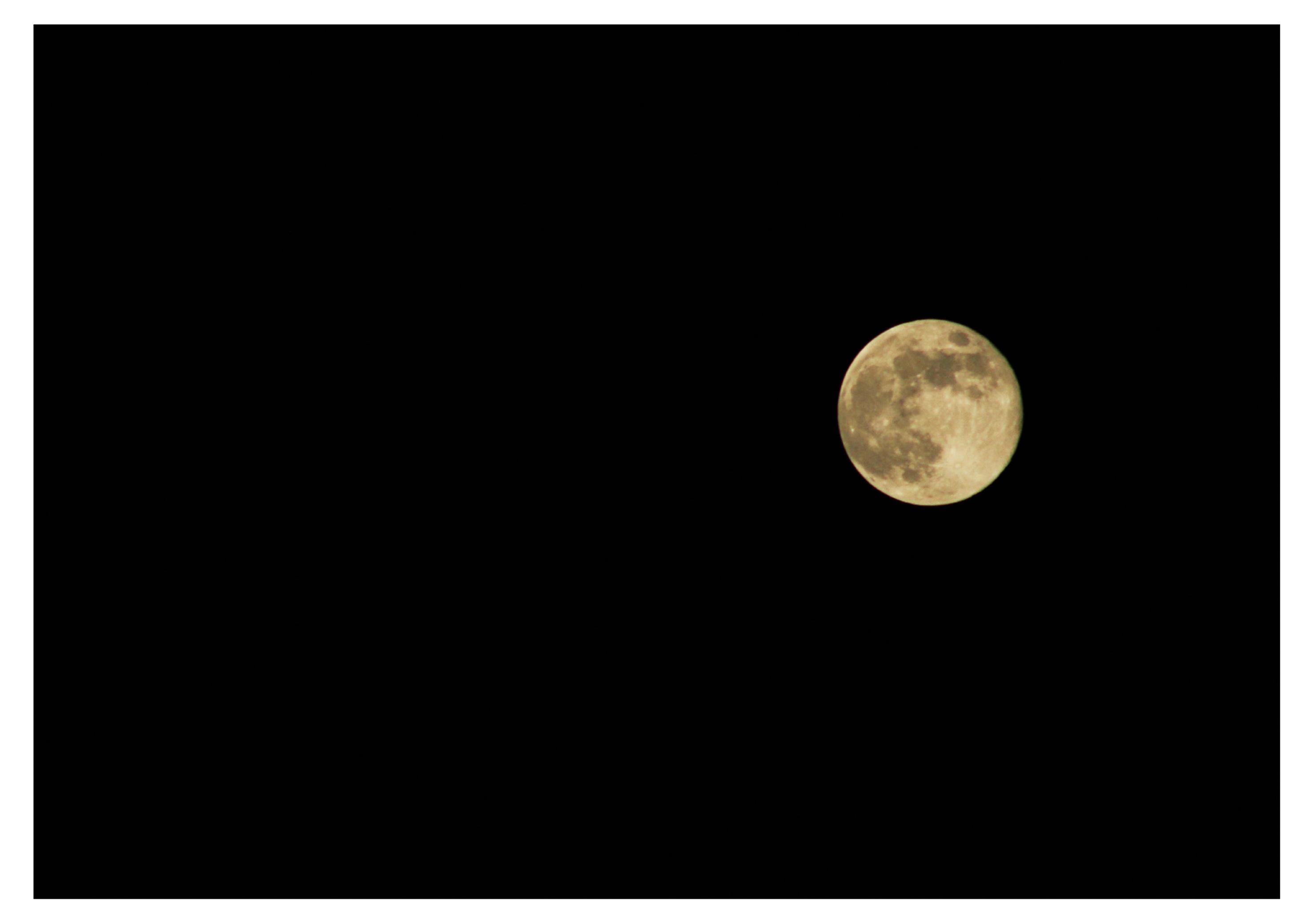 4月30日の満月