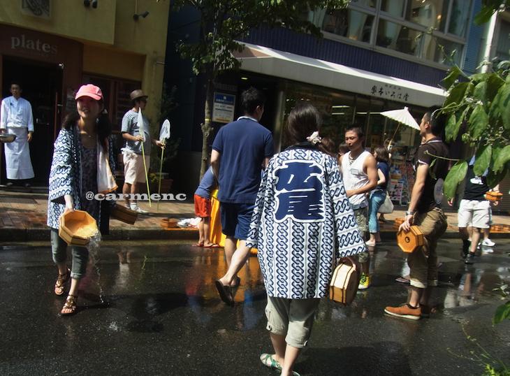 広尾の夏祭り