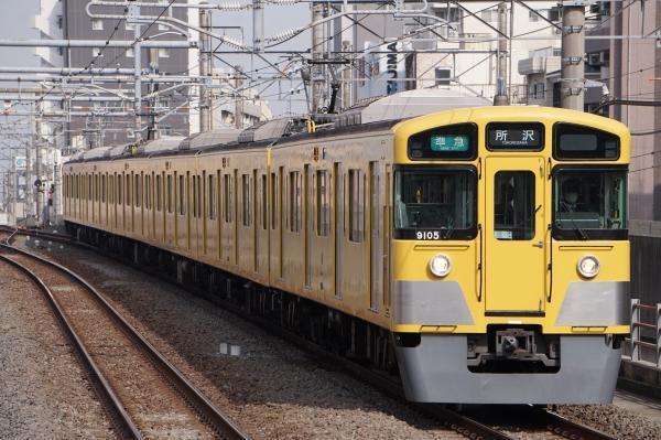 2018-03-29 西武9105F 準急所沢行き