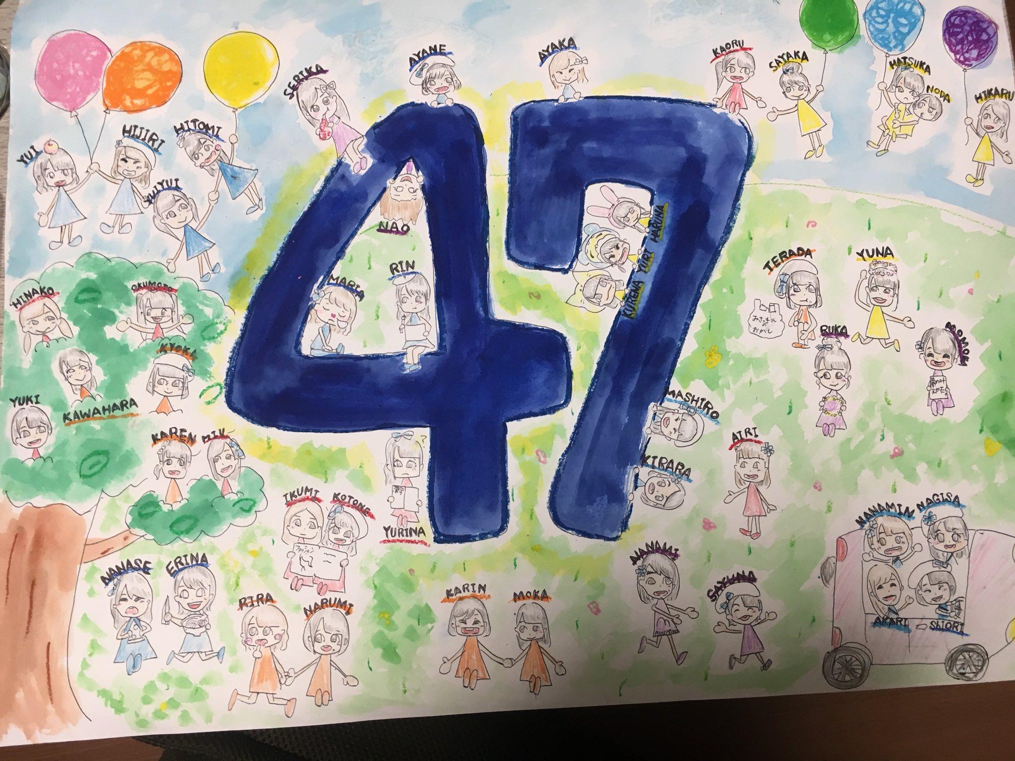 チーム8歌田初夏さんが描いたチーム8の絵がほっこりする