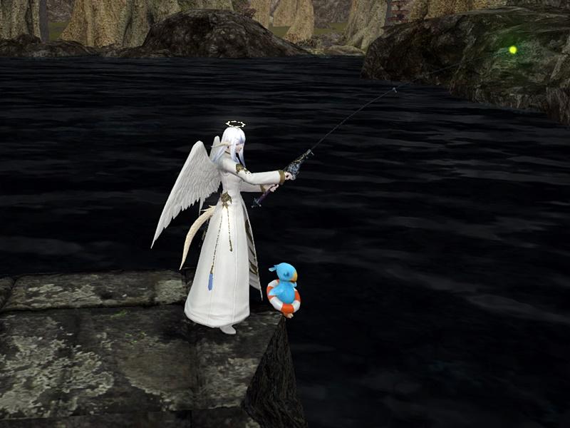 天使も釣りをする