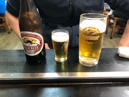 キリンラガー瓶ビール(中)・キリン一番搾り