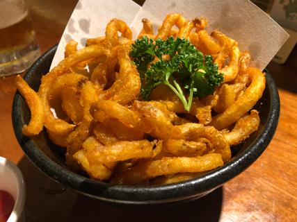 沖縄カーリーポテトフライ