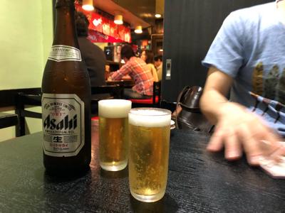 ビール(アサヒ中瓶)