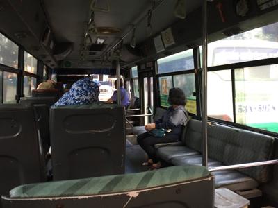 ローカルバスに乗ってみた